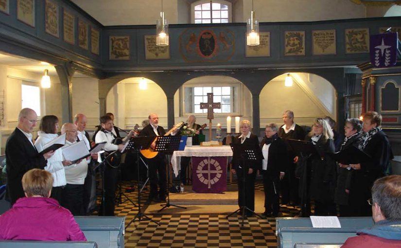 Erster Auswärtseinsatz der Kirchenband Immenhausen in Alheim-Heinebach