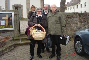 Die Kirchenband in Heinebach