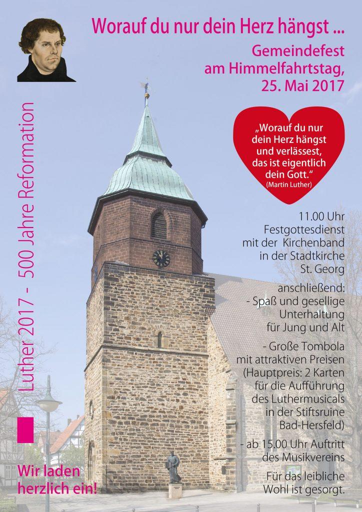 Plakat Himmelfahrt 2017