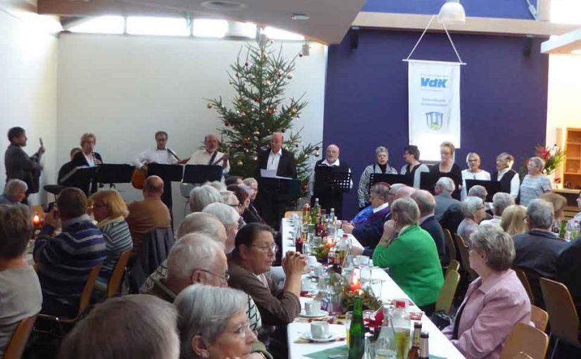 Weihnachtsfeier beim Sozialverband VdK