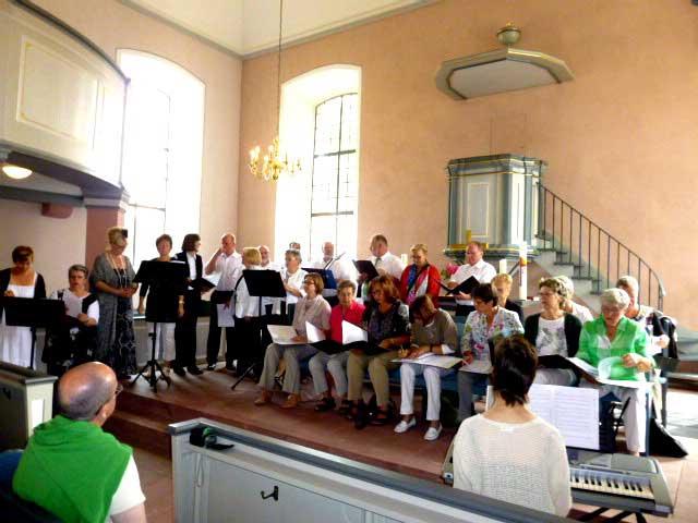 Projekt: Kirchenband plus Singkreis – Teil 2